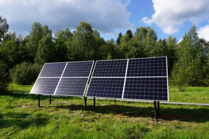 Installation of the first solar power station in Kivach Nature Reserve is completed
