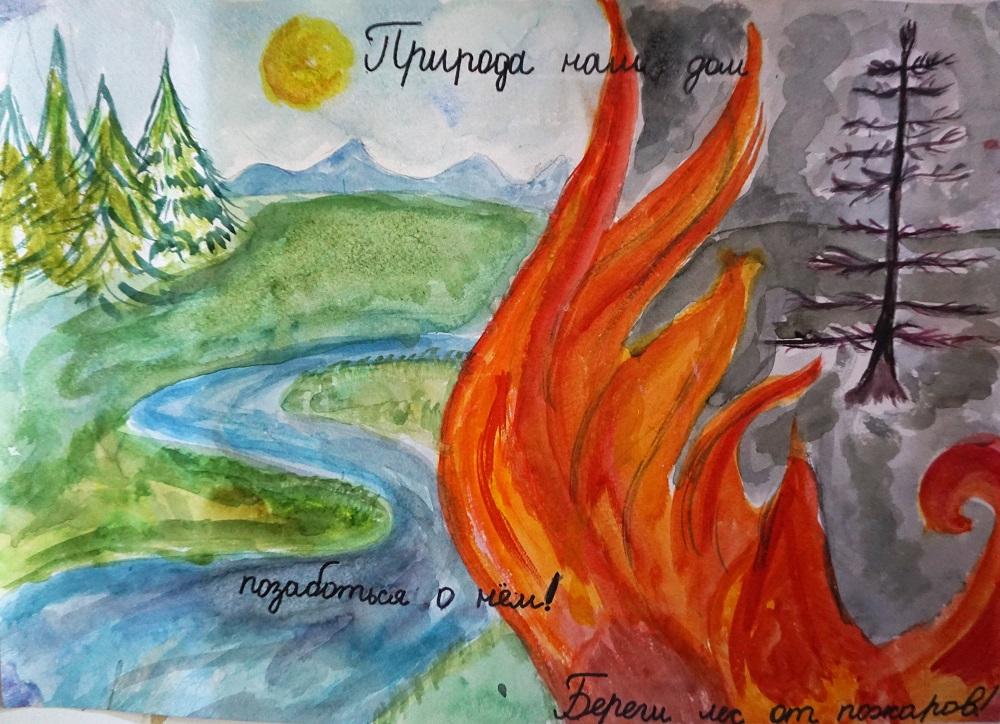 картинки как защитить лес от огня эксперты-геммологи россии